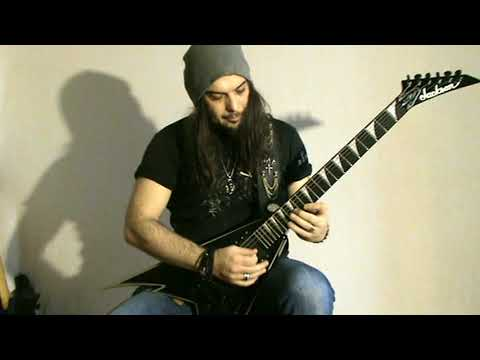 Gus G. - What Lies Below //SOLO playthrough// by Kostas Sotos (Crystal Tears)