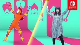 【舞力全開實驗室】施工舞 牛仔舞 俄羅斯娃娃都能跳舞 ???? | 2人玩 Just Dance Lab Crazy Lab