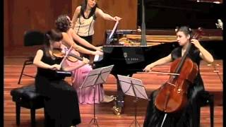 "J. BRAHMS - ""Piano Trio in B Major, Op.8 (3/4)"" ""Trio Areti"" - Asieieva / Rahmatulla / Nochovska"