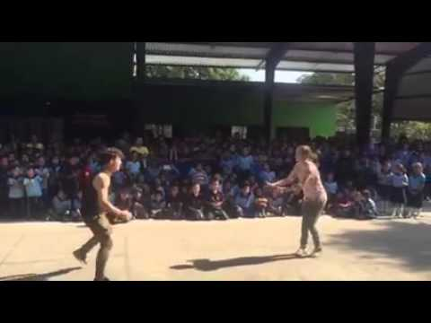 Alyson Stoner & Erik Hall dancing in El Salvador.