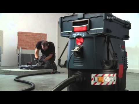 Видео обзор: Пылесос BOSCH GAS 35 L SFC+