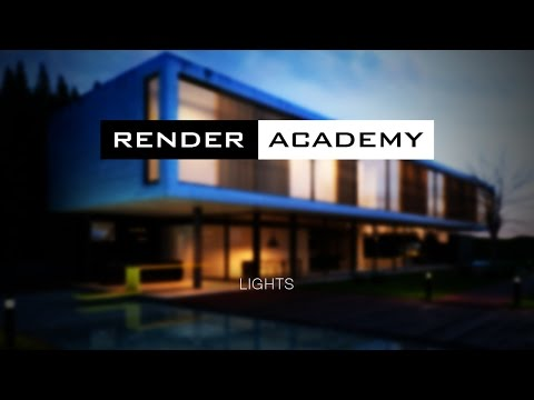 Render Academy - V-Ray Lights in 3ds Max