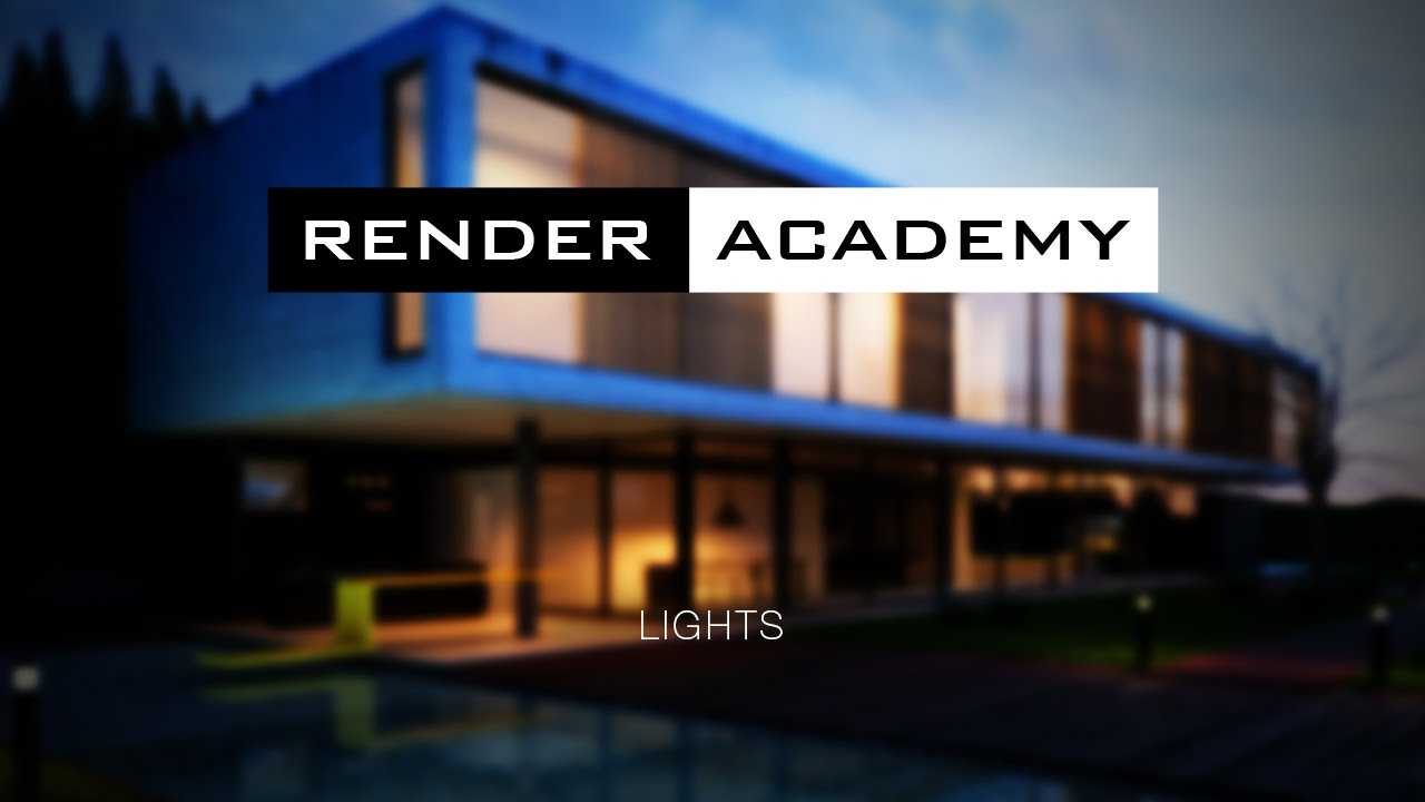 & Render Academy - V-Ray Lights in 3ds Max - YouTube azcodes.com