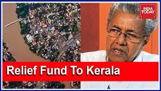 Political Fury Against Centre Govt Over Relief Fund To Kerala