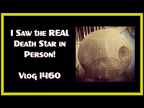 I SAW THE REAL DEATH STAR IN PERSON