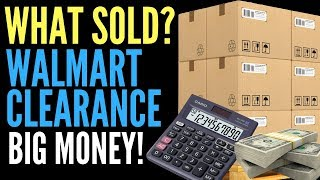Walmart Clearance Sold on Amazon FBA Doing Retail Arbitrage. Buying and Selling For Profit.
