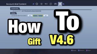 How To Gift Items V4.6 Fortnite Battle Royale