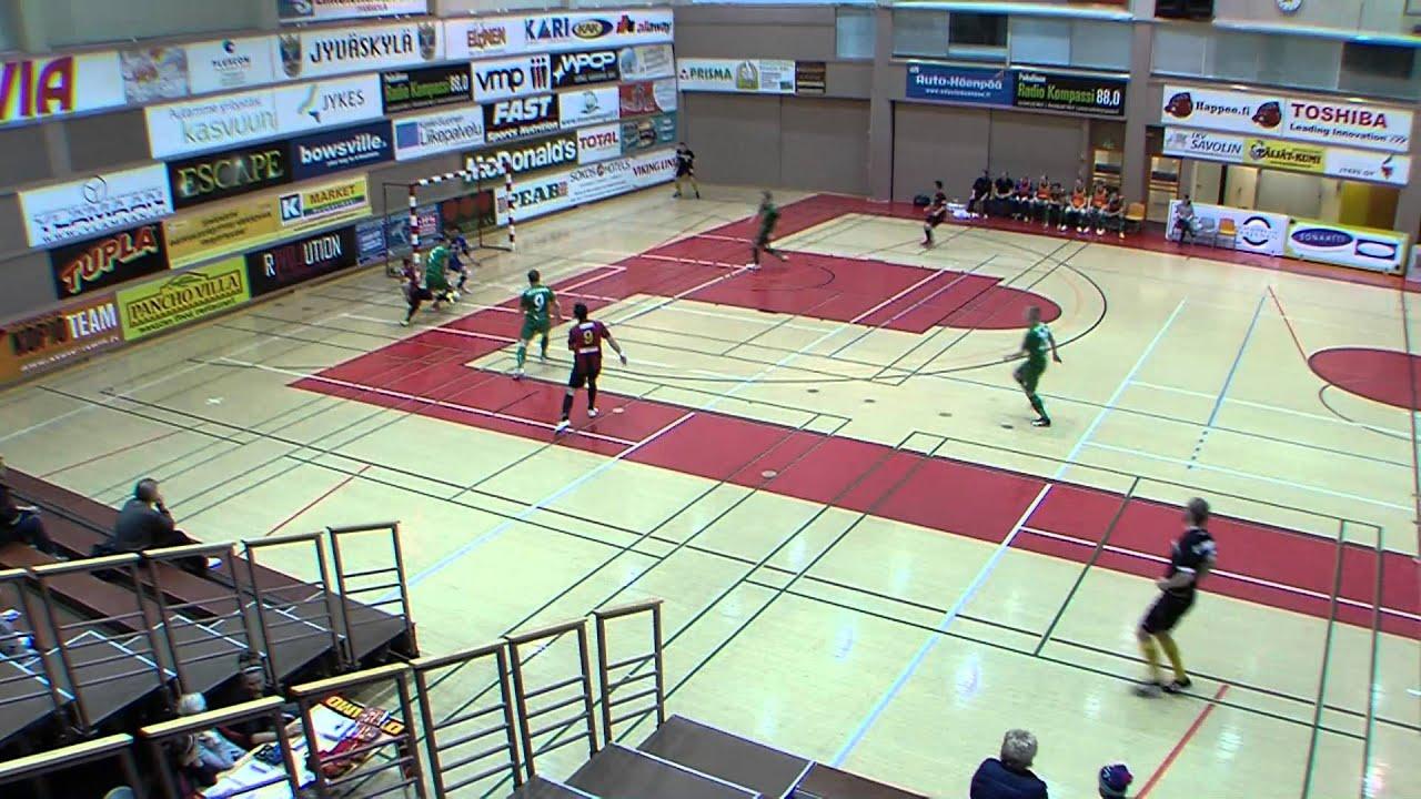 KaDy-Ilves FS Futsal Cup 4. kierros 2-3 (2-2) maalit - YouTube