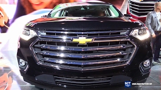 2018 Chevrolet Traverse Limited - Exterior and Interior Walkaround - Debut at 2017 Chicago Auto Sho