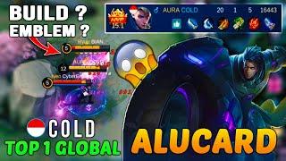 Alucard Gameplay : Alucard Best Build  - Top 1 Global Alucard by COLD - Mobile Legends