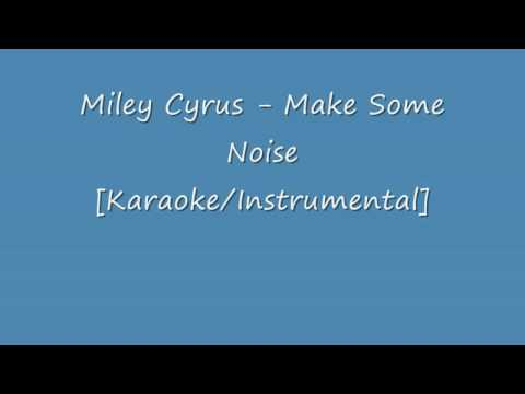 Make Some Noise [Karaoke/Instrumental] w/lyrics