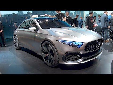 The next Mercedes CLA? Shanghai auto show