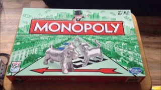 Monopoly Original Board Game Unboxing