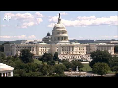 Raw Video: White House, Capitol Shaken by Quake