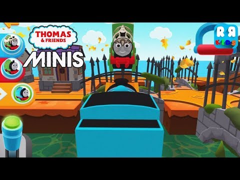 Thomas and Friends Minis - New Track The Orange Chase   Thomas and Percy Crash - iOS / Android