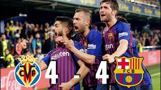 Villarreal and barcelona played out an incredible 4-4 draw on tuesday night in la liga. with coutinho, malcom, messi suárez scoring completing the co...