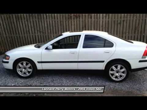 2004 volvo s60 2 5t awd 4dr turbo sedan point pleasant for Leonard perry motors nj