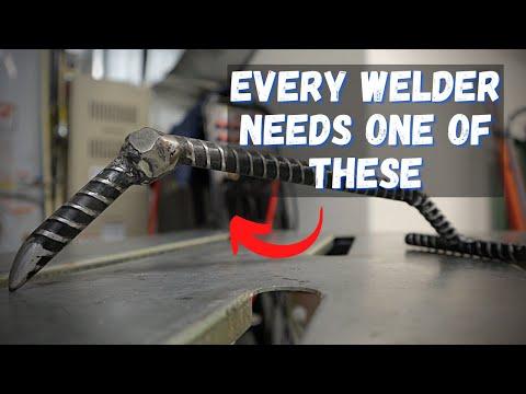 Rebar Welding Projects - Welders Third Hand Tool from Rebar