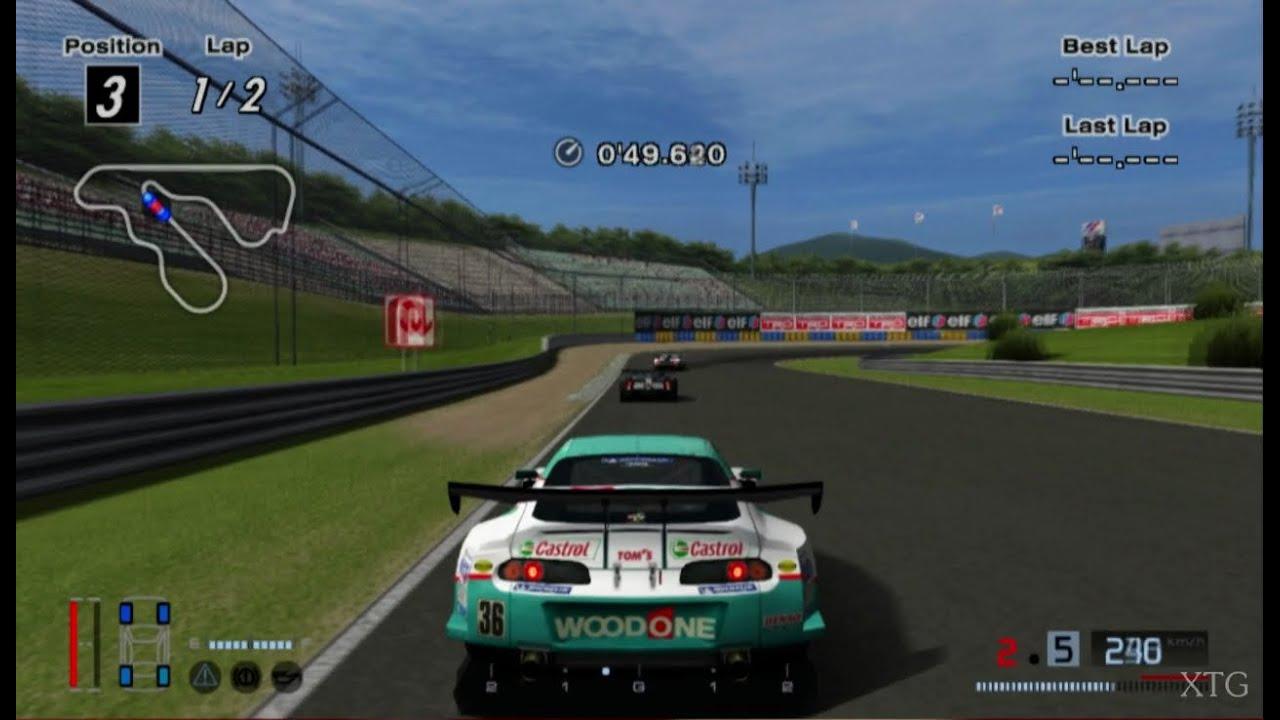 2016 Toyota Supra >> Gran Turismo 4 - Toyota WOODONE Tom's Supra HD PS2 ...