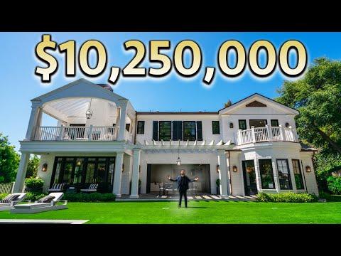 $10,250,000 LOS ANGELES Mansion Tour
