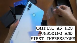 DIY PINOY TRIES Unboxing UMIDIGI A5 PRO | Comedy Unboxing |Cheapest triple camera phone|5000PHP ONLY