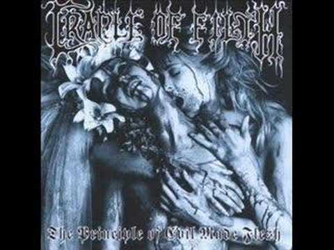 11 - cradle of filth - a dream of wolves in the snow