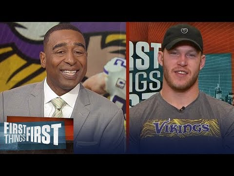 Vikings' Kyle Rudolph talks Cousins, explains the 'dead arm dance' & more | NFL | FIRST THINGS FIRST