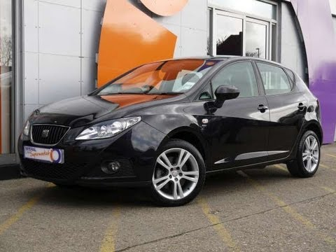 2010 seat ibiza sport 1 6tdi cr black 5dr for sale in hampshire youtube. Black Bedroom Furniture Sets. Home Design Ideas