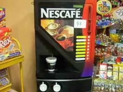 Expendedoras de cafe youtube for Maquinas expendedoras de cafe para oficinas