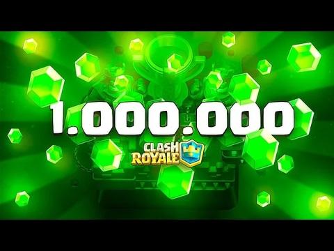 $7,200 1 MILLION GEMS SMC OPENING!!! Clash Royale Gameplay!