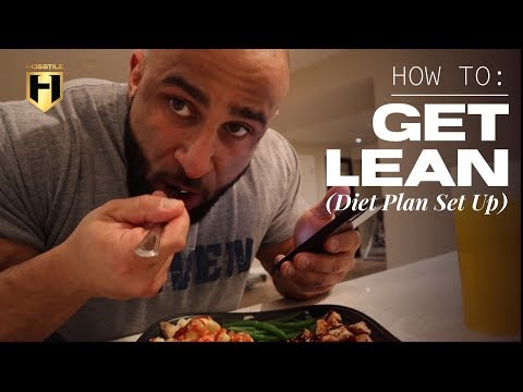 HOW TO GET LEAN (diet plan set up) | Fouad Abiad
