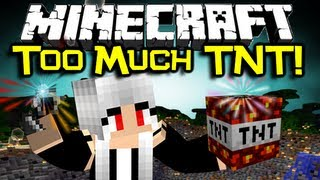 Minecraft TOO MUCH TNT MOD Spotlight - Let