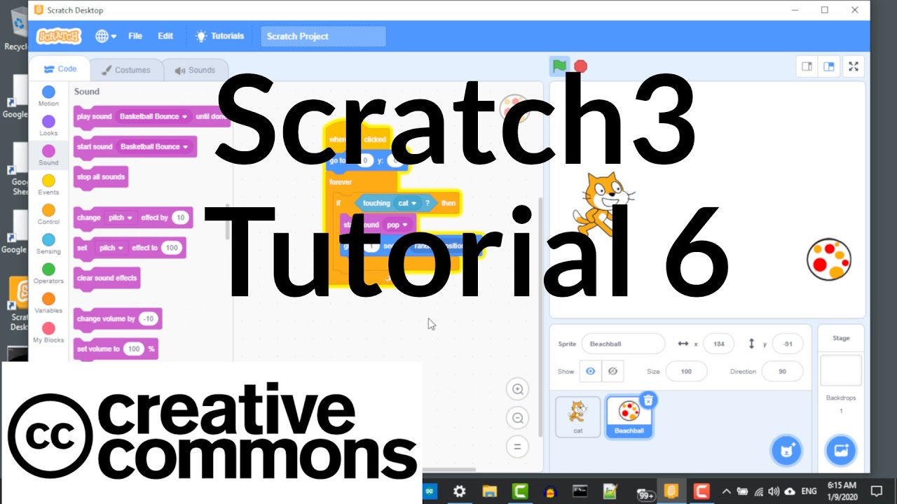 Scratch3 Tutorial 6