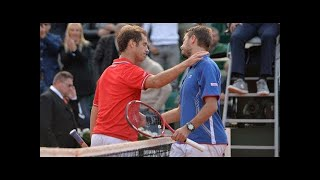 Wawrinka vs Gasquet ● RG 2013 R4 HD Highlights