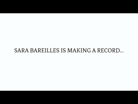 """Sara is Making a Record..."""