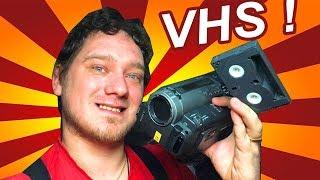 Раздобыл древнюю камеру VHS из 90-х! Sony Handycam HI-8
