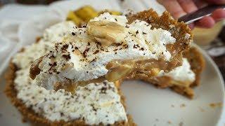 Tarta de banana y dulce de leche o tarta banoffee a mi manera