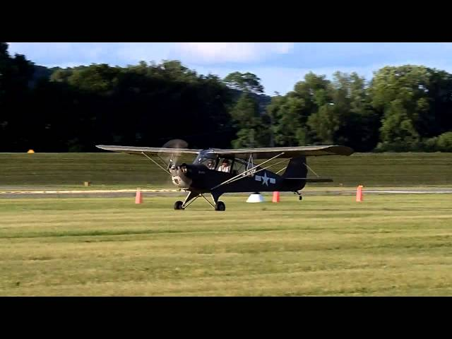 Military aircraft take off at the fly in, Lock Haven, Pa.
