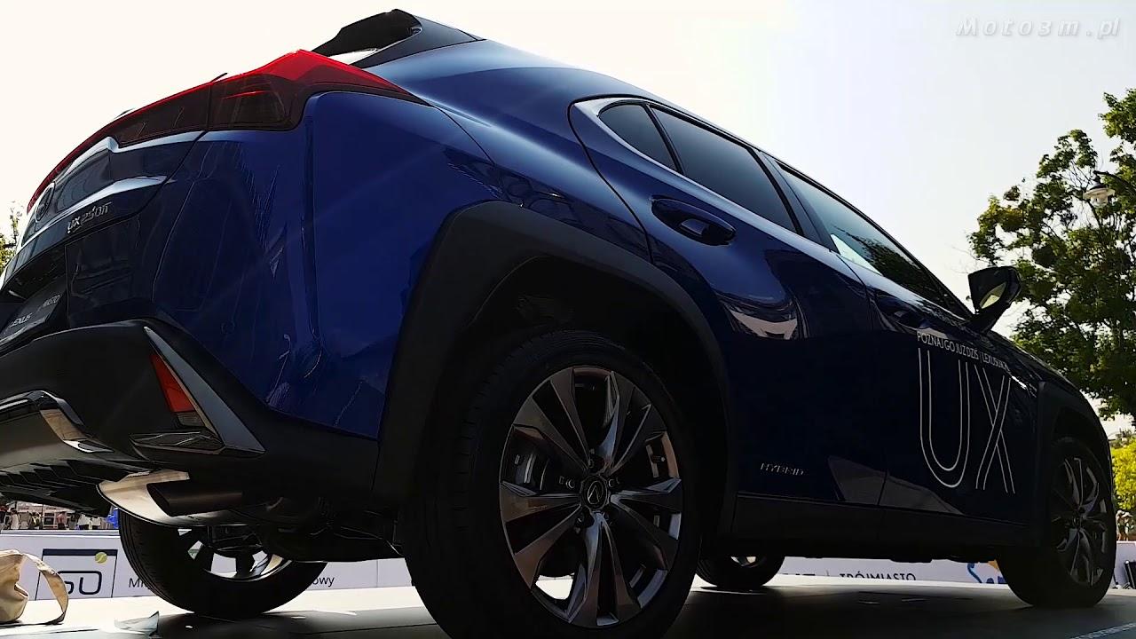 [Moto3m TV] Nowy Lexus UX - przedpremierowo w Sopocie, podczas turnieju Sopot Open