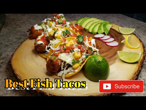 How To Make The Best Fish Tacos!!