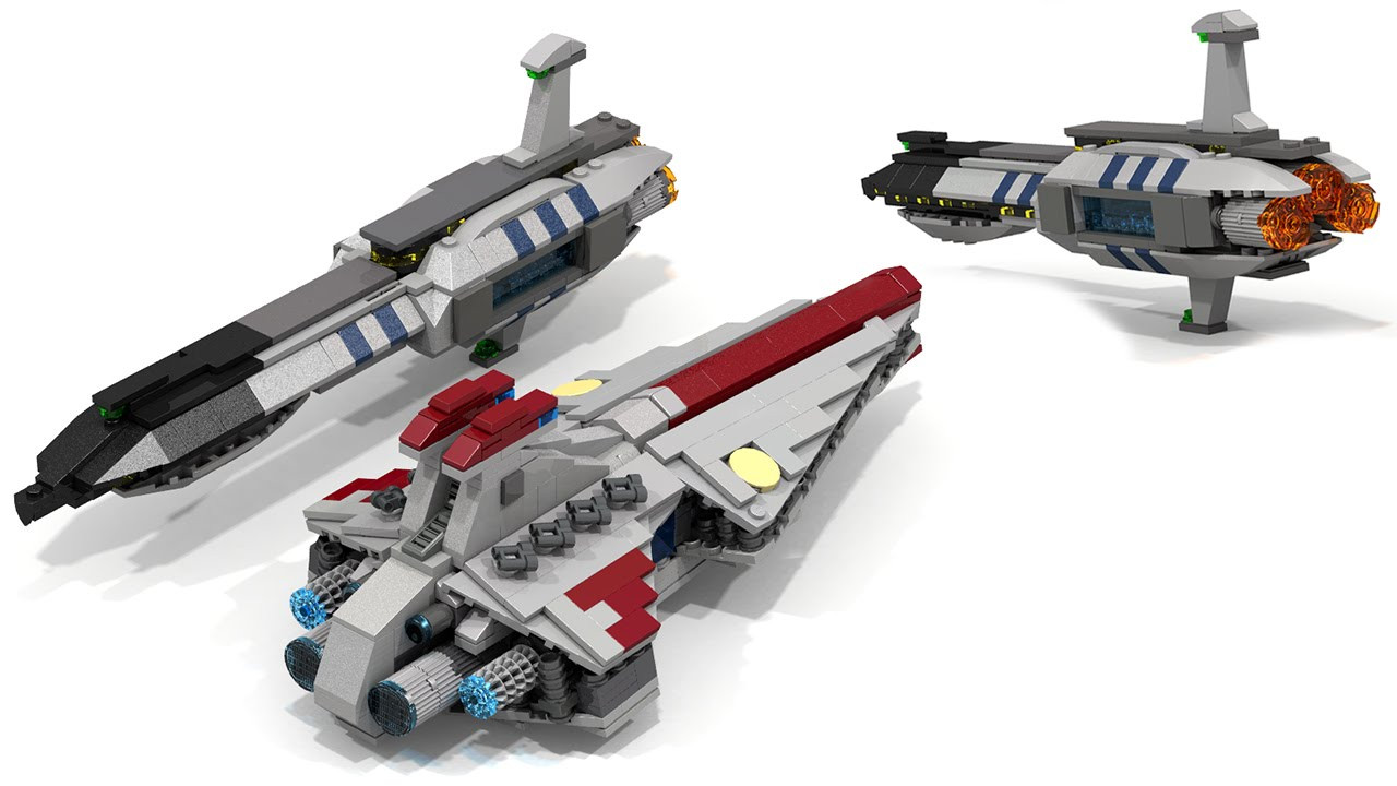 How To Build Lego STAR WARS - Invisible Hand (Micro)