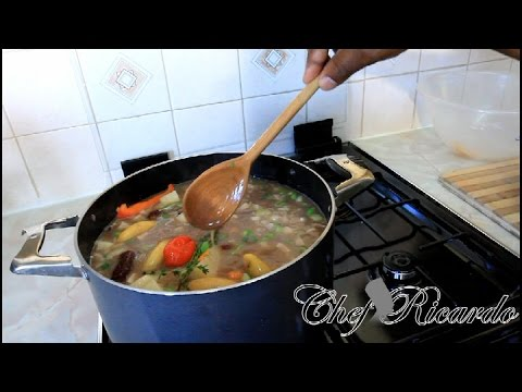 Jamaican Red Peas Soup With Beef – | Recipes By Chef Ricardo