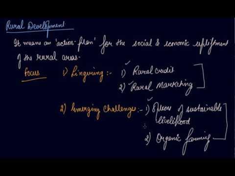 Rural Development  - Objectives & Key Issues | Class 11 Economics  Rural Development