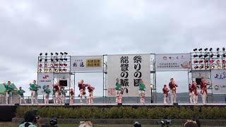 2018年6月9日(土)、石川県七尾市で開催された「能登よさこい祭り」(わく...