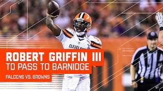 RGIII's Perfect TD Pass to Gary Barnidge! (Preseason)  | Falcons vs. Browns | NFL
