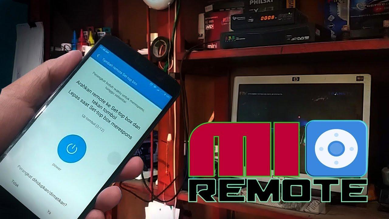 Mi Remote Aplikasi Remot Receiver Di Android Youtube