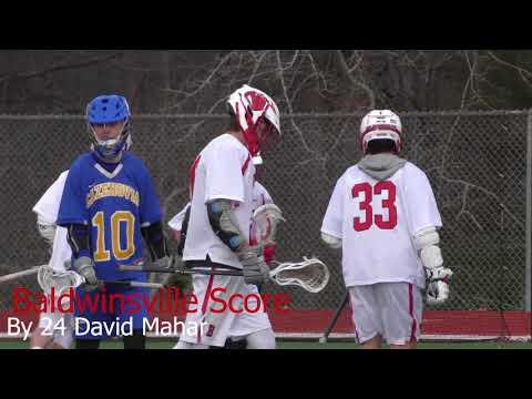 Game Highlights Spring Boys Junior Varsity Lacrosse Baldwinsville VS Cazenovia 4/09/2018 4k
