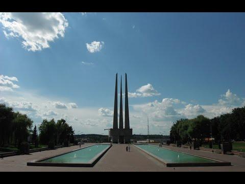 Площадь Победы в Витебске (Victory Square in the Vitebsk)