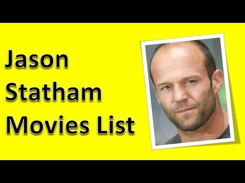 Jason Statham Movies List - YouTube