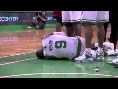 Rajon Rondo Dislocated Elbow May 7, 2011